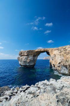 Azure Window formation on Gozo