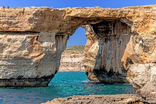 Azure Window in Gozo island