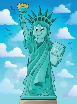 Statue of Liberty theme image 3