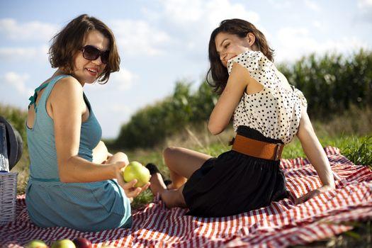 Girls, summer free time spending