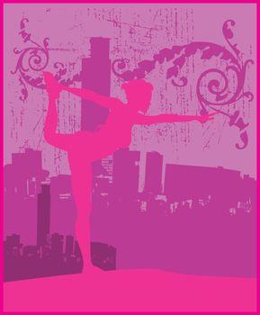Stretching Pink