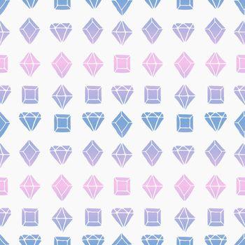 Diamond Shapes Seamless Pattern