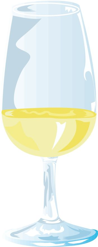 White Wine Tasting Glass