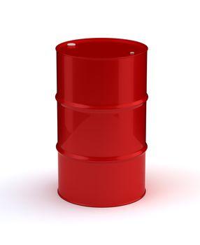 Single Red Barrel