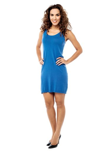 How do i look in this dress ?