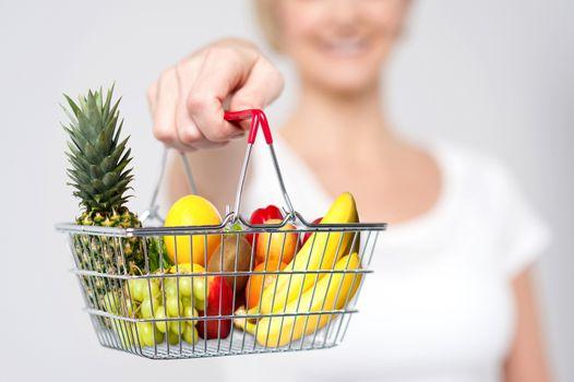 Eat fresh, stay healthy.