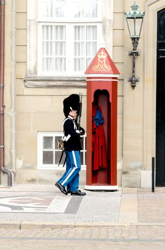 Royal guards at Amalienborg Slot