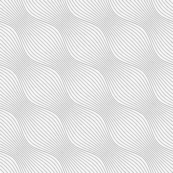 Gray ornament diagonal bulging waves
