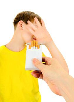 Kid refuse Cigarettes
