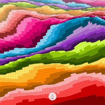 Abstract colorful background. Mosaic vector illustration. Can be used for wallpaper, web page background, web banners.