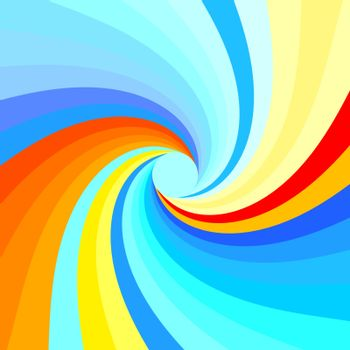 Abstract swirl background. Vector illustration. Can be used for wallpaper, web page background, web banners.