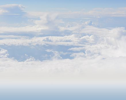 White Clouds or Heaven for Wallpaper Backgrounds