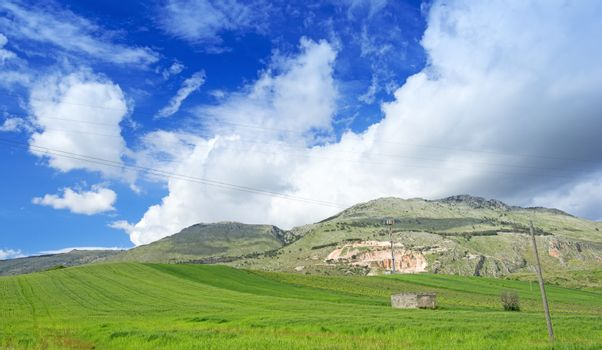 Meadow at Sicily