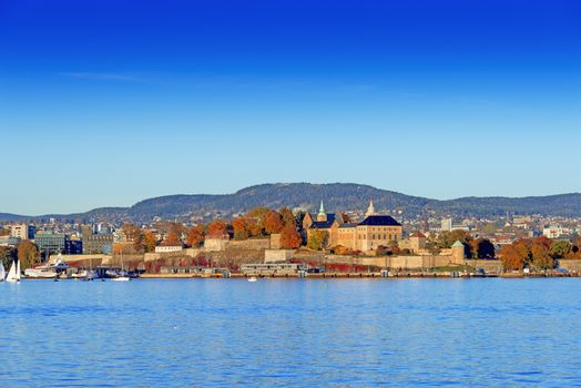 Akershus Fortress at golden hours