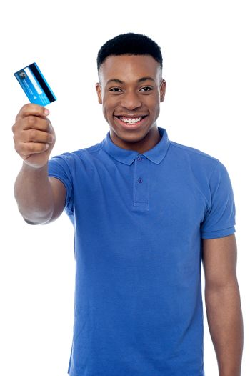 Hey, is this your cash card ?