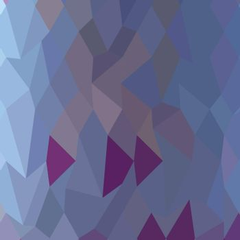 Low polygon style illustration of a pastel purple abstract geometric background.