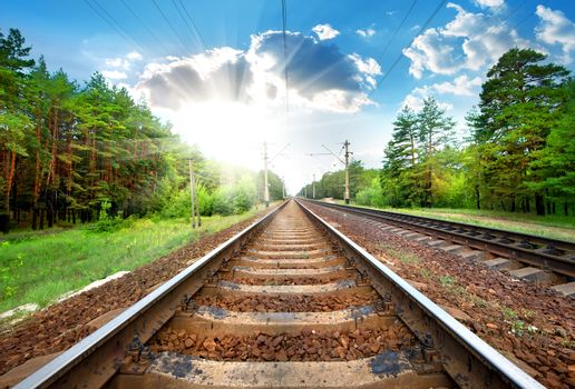 Railroad close-up