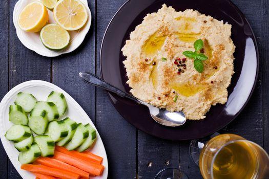 Hummus Dip Appetizer