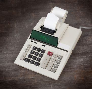 Old calculator - sell