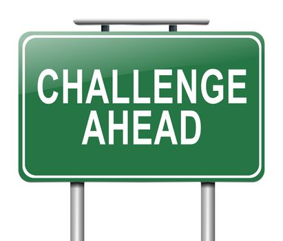 Challenge concept.