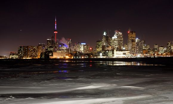 Night Shot Toronto