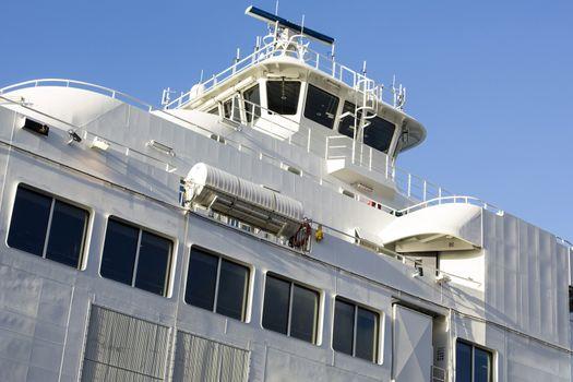 Car Ferry Ship Surerstructure