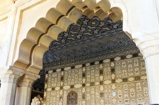 Interior of Amber Fort, Landmark in Jaipur