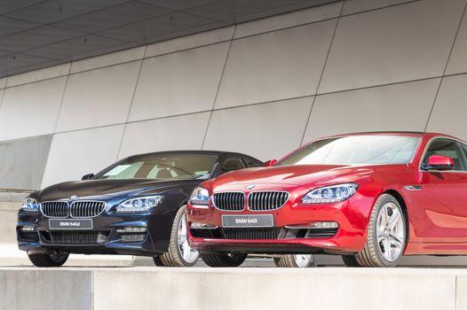 Modern BMW model lineup first class exclusive business sedan car