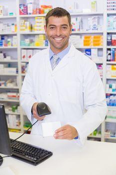 Pharmacist looking at camera