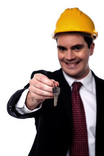 This is your home key !
