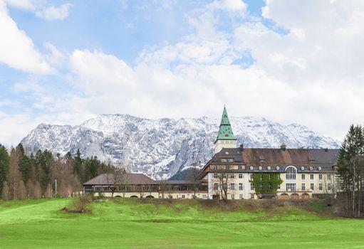 Hotel Schloss Elmau in Bavarian Alpine valley G7 summit 2015
