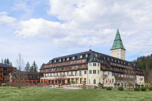 Hotel Schloss Elmau royal luxury residence in Bavarian Alpine va