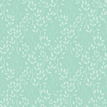 Vector green trees texture seamless pattern background graphic design