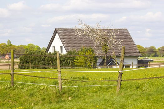 rural house at Lower Rhine, Germany