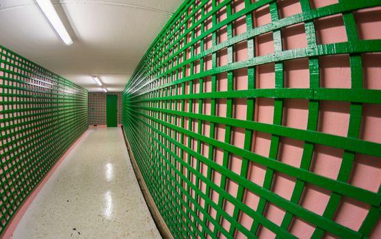 Underpass subway pedestrian passage
