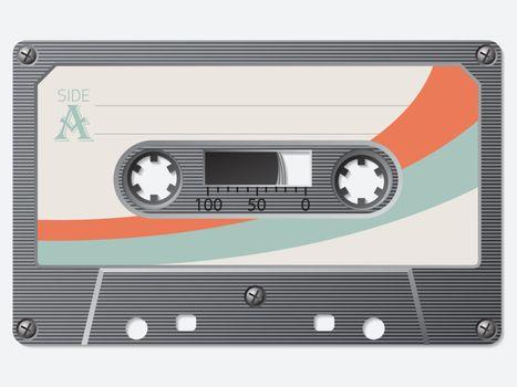 Old school retro cassette