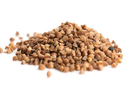 Heap of buckwheat