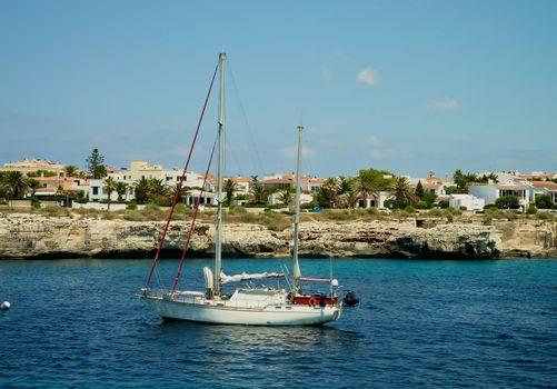 Yacht in Harbor