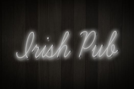 Composite image of irish pub