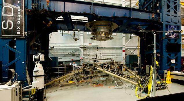 Space station docking machinery