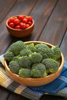 Raw Broccoli Florets