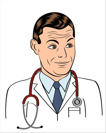 friendly doctor smiling