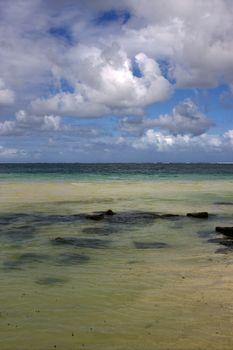 rock  in belle mare mauritius