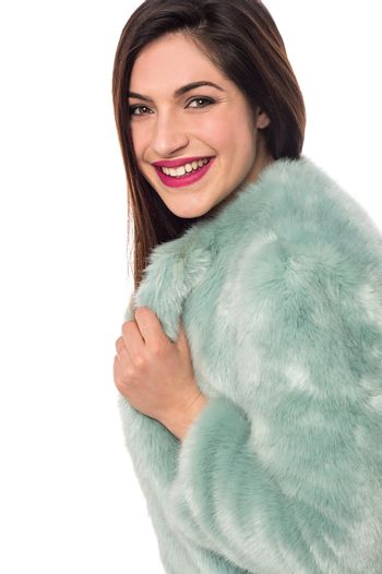 How is my new fur cloth ?