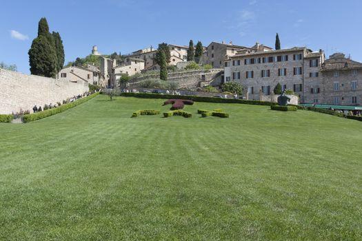 The Basilica of San Francesco in Assisi