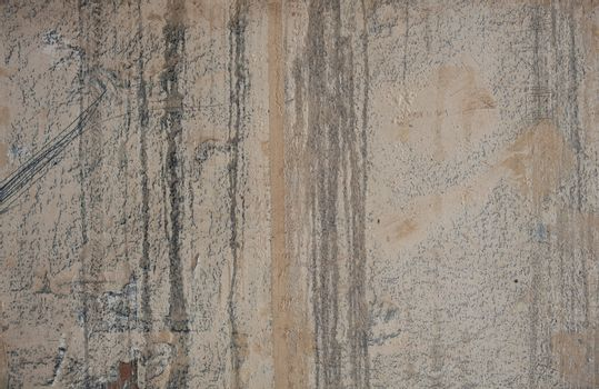 View of grunge concrete cement gray wall