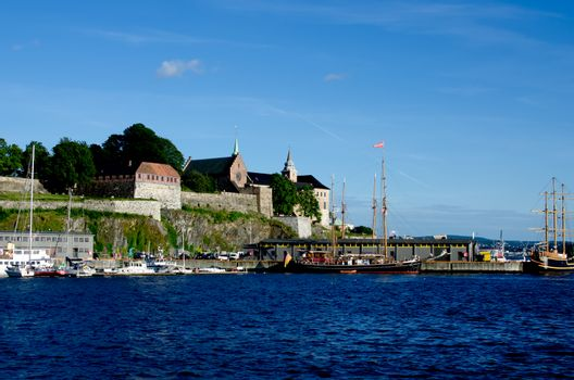 View on Akershus Fortress