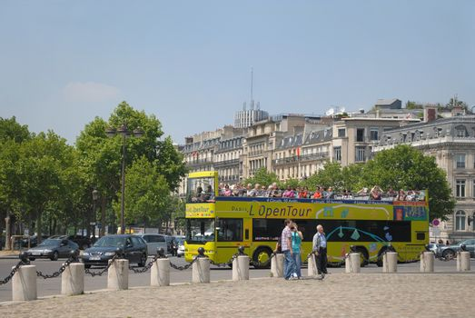 Parisian tourists.•
