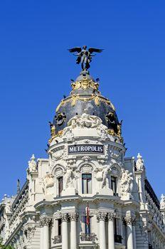 Metropolis Palace at Madrid