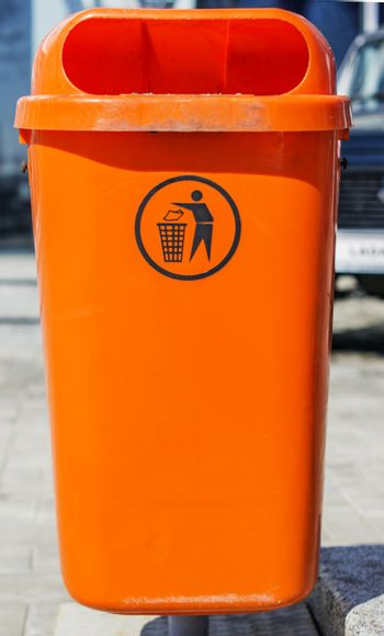 Recycle bin. For your commercial and editorial use